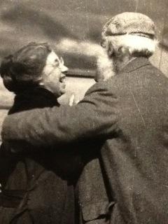 Mabel and Alexander Graham Bell